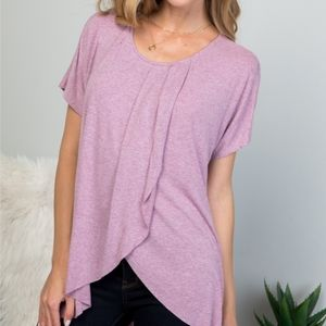 🆕️ Lavender Pleated Top
